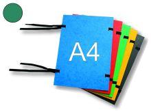 HIT OFFICE Spisová deska s tkanicí A4, prešpán - tmavě zelená
