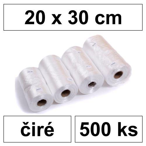 HDPE Mikrotenové sáčky na roli 200 x 300 mm [500 ks] - čiré