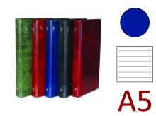 KARTON P+P Kroužkový záznamník A5, XEPTER, 4 kroužky, náplň 100 listů - modrá