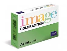 Kopírovací papír Coloraction A4 80g. DUBLIN - zelená sytá (500 listů)