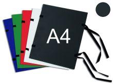 HIT OFFICE Spisová deska s tkanicí A4 - černá