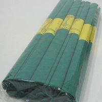 Papír krepový, 50 x 200 cm - tmavě zelený 21