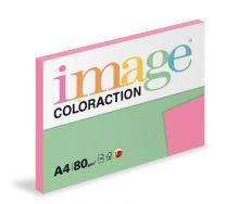 Kopírovací papír Coloraction A4 80g. MALIBU - růžová reflexní (100 listů)