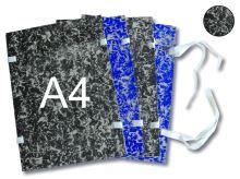 HIT OFFICE Spisová deska s tkanicí A4 mráček - černá