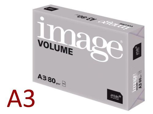 Kopírovací papír A3 (297 x 420 mm) 80g/m2 Image Volume - bílý [500 listů]