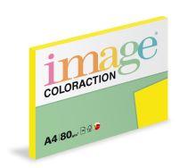 Kopírovací papír Coloraction A4 80g. SEVILLA - žlutá sytá (100 listů)