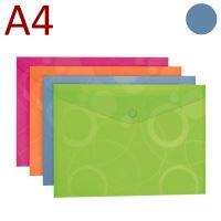 KARTON P+P Obálka s drukem, A4, NEO COLORI - modrá