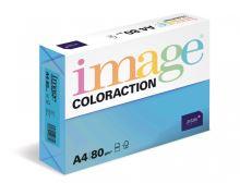 Kopírovací papír Coloraction A4 80g. STOCKHOLM - modrá tmavá (500 listů)