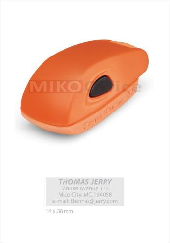 COLOP Stamp Mouse 20 - otisk 14 x 38 mm - varianty