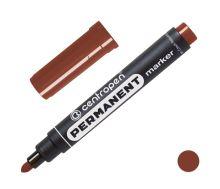 CENTROPEN Popisovač 8566 - 2,5 mm - hnědý