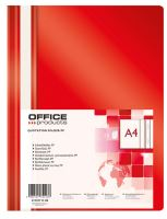 OFFICE Products Rychlovazač A4 OP 110/170 µm - červený
