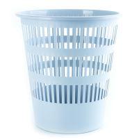 DONAU Odpadkový koš, perforovaný, PP, 12 l - šedý