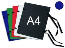 HIT OFFICE Spisová deska s tkanicí A4 - modrá