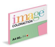 Kopírovací papír Coloraction A4 80g. CORAL - starorůžová (100 listů)