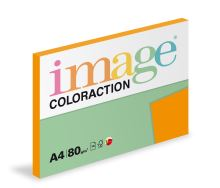 Kopírovací papír Coloraction A4 80g. ACAPULCO - oranžová reflexní (100 listů)