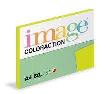 Kopírovací papír Coloraction A4 80g. RIO - zelená reflexní (100 listů)
