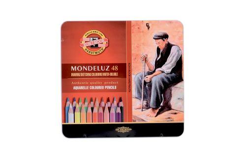KOH-I-NOOR Pastelky sada 3726/48 akvarelové - 48 barev