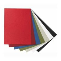 Desky zadní pro vazbu imitace kůže A4 - červené (100 ks)