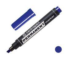CENTROPEN Popisovač 8576 zkosený, 1,0-4,6 mm - modrý
