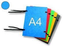 HIT OFFICE Spisová deska s tkanicí A4, prešpán - modrá