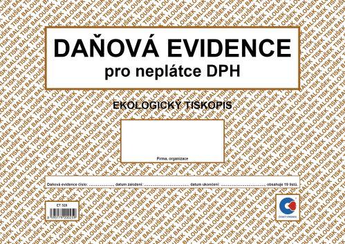 BALOUŠEK TISK ET328 Daňová evidence pro neplátce DPH, A4
