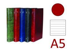 KARTON P+P Kroužkový záznamník A5, XEPTER, 4 kroužky, náplň 100 listů - červená