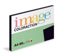 Kopírovací papír Coloraction A4 80g. BLACK - sytá černá (100 listů)