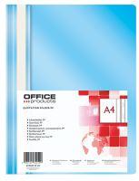OFFICE Products Rychlovazač A4 OP 110/170 µm - světle modrý