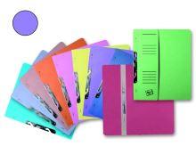 HIT OFFICE Rychlovazač závěsný půlený RZP A4 Classic, 240g - fialový