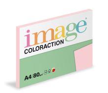 Kopírovací papír Coloraction A4 80g. TROPIC - růžová (100 listů)