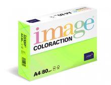 Kopírovací papír Coloraction A4 80g. RIO - zelená reflexní (500 listů)
