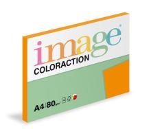 Kopírovací papír Coloraction A4 80g. AMSTERDAM - cihlová (100 listů)