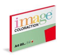 Kopírovací papír Coloraction A4 80g. CHILE - červená jahoda (100 listů)