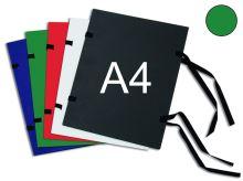 HIT OFFICE Spisová deska s tkanicí A4 - zelená