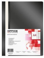 OFFICE Products Rychlovazač A4 OP 110/170 µm - černý