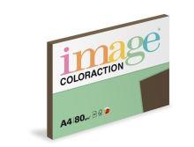 Kopírovací papír Coloraction A4 80g. BROWN - sytá hnědá (100 listů)