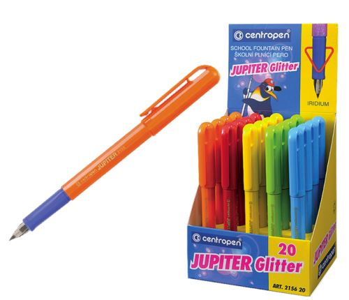 CENTROPEN Pero bombičkové 2156 JUPITER 0,3 mm - mix barev
