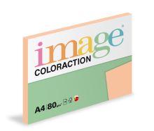 Kopírovací papír Coloraction A4 80g. SAVANA - meruňková (100 listů)