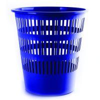 DONAU Odpadkový koš, perforovaný, PP, 12 l - modrý