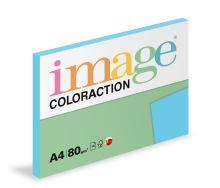 Kopírovací papír Coloraction A4 80g. LISBON - tyrkysová sytá (100 listů)
