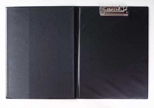 KARTON P+P Desky A4 s rychlosvorkou nahoře plastik - černá