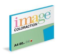 Kopírovací papír Coloraction A4 80g. STOCKHOLM - modrá tmavá (100 listů)