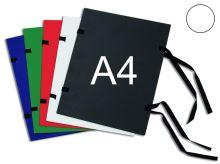 HIT OFFICE Spisová deska s tkanicí A4 - bílá