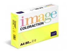 Kopírovací papír Coloraction A4 80g. IBIZA - žlutá reflexní (500 listů)