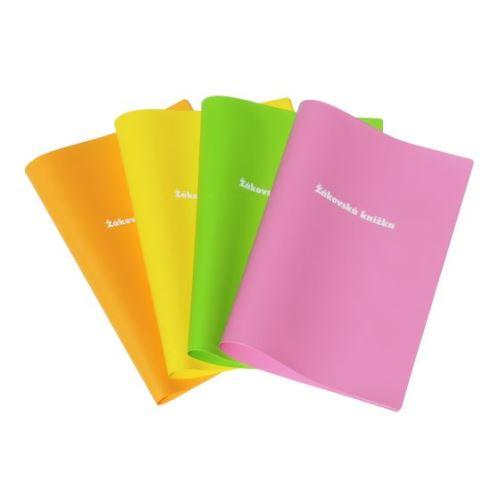 LINARTS Obal na žákovskou knížku, PVC - barevný mix