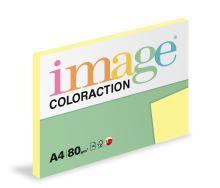 Kopírovací papír Coloraction A4 80g. DESERT - žlutá pastelová (100 listů)