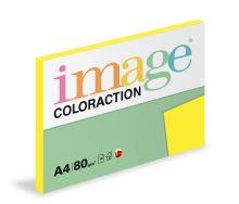 Kopírovací papír Coloraction A4 80g. IBIZA - žlutá reflexní (100 listů)