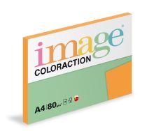 Kopírovací papír Coloraction A4 80g. VENEZIA - oranžová sytá (100 listů)